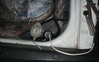Мотор заднего дворника ваз 2112
