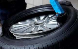 Как забортовать колесо на машине