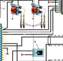 Схема электропроводки газ 3302 двигатель 406 карбюратор