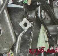 Регулировка троса сцепления гранта с тросовым приводом