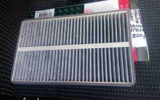 Как поменять салонный фильтр лада гранта