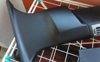Как покрасить пластик в салоне автомобиля