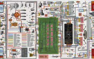 Проводка ваз 2109 инжектор 8 клапанов