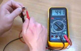 Как проверить силовые диоды