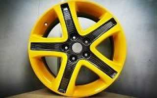 Как почистить и покрасить диски на машине