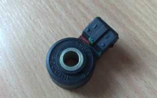 Датчик детонации ваз 2109 инжектор цена