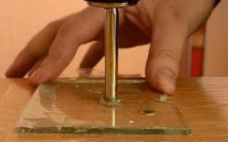 Можно ли просверлить каленое стекло