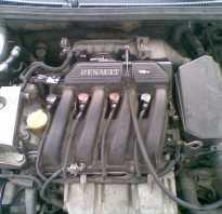 Объем масла в двигателе к4м рено