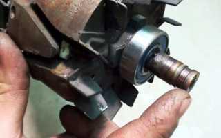 Как поменять медные кольца на генераторе