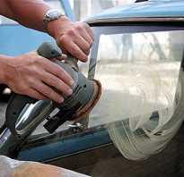Как отполировать лобовое стекло автомобиля