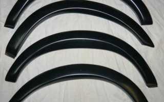Ремонт задней арки ваз 2110