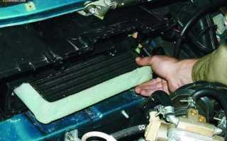 Ваз 2110 ремонт печки отопителя