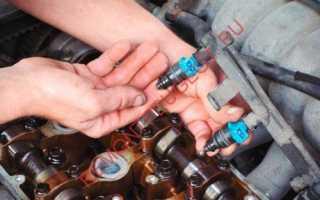 Прочистка форсунок инжектора своими руками