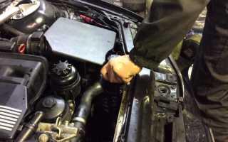 Воздушная пробка в системе охлаждения как устранить