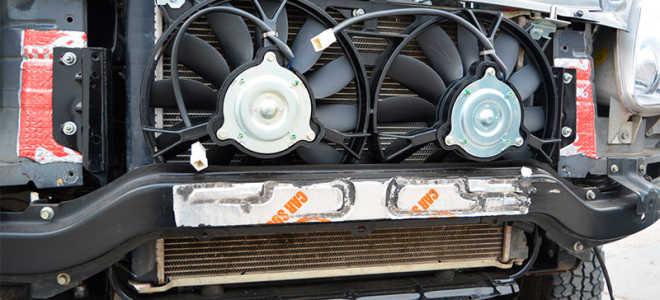 Моторчик вентилятора охлаждения радиатора