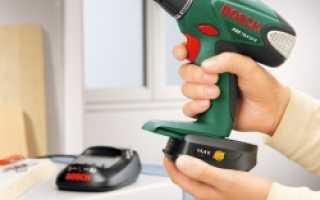 Литиевые аккумуляторы для шуруповерта как заряжать